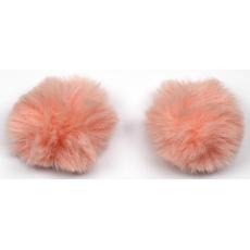 Kokardki - Pompon różowy